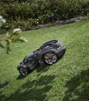 pendenza robot automower